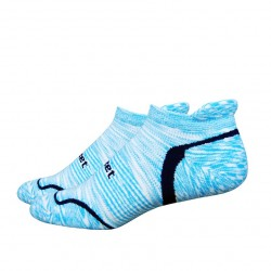 Defeet D-EvoTabby Groovy Space Dyed Light Blue Navy