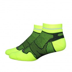 "Defeet Meta 1"" Reflector Stripe Hi-Vis Yellow Black"