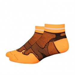 "Defeet Meta 1"" Reflector Stripe Hi-Vis Orange Black"