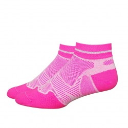 "Defeet Meta 1"" Reflector Stripe Hi-Vis Pink White"