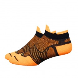 Defeet Meta Tabby Hi-Vis Orange Black