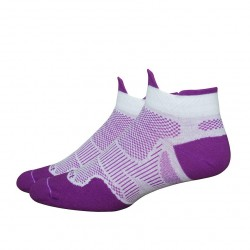 Defeet Meta Tabby Purple White