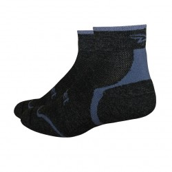 Defeet D-Evo Wool Charcoal Graphite, 1 inch