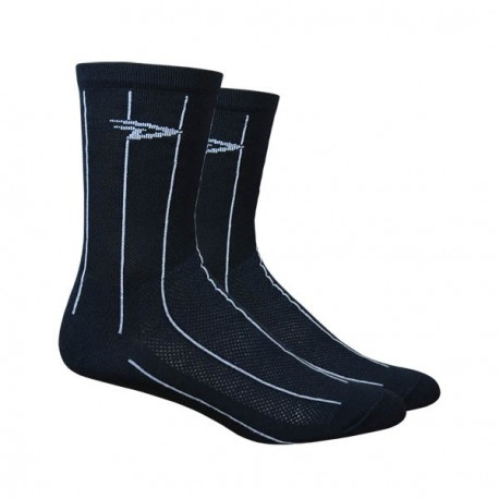 Defeet Aireator Hi-Top Pinstripes black