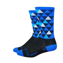 "DeFeet Aireator sako7socks 6"" Hi Top Pro Solitude blue"