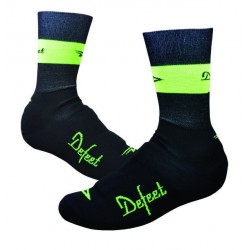 DeFeet Slipstream black and yellow hi-viz