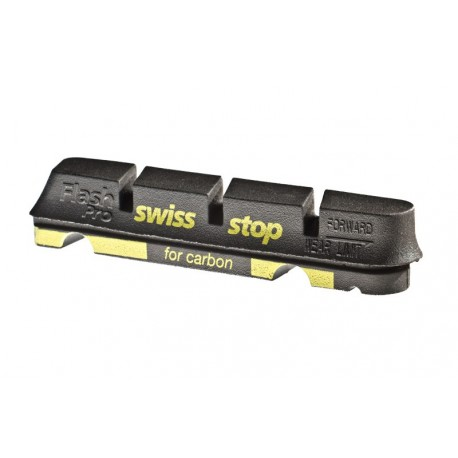 4 Swissstop black prince pads for carbon rims