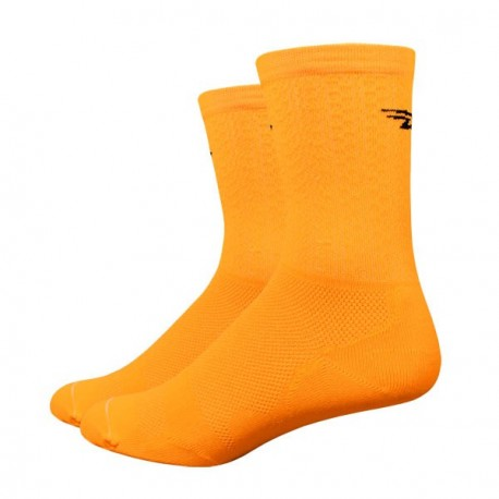Chaussettes Defeet Levitator Lite D-Logo orange