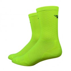 "Defeet Levitator Lite 5"" yellow hi-vis"