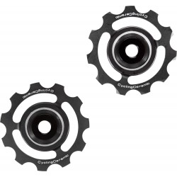 Cyclingceramic ceramic jockey wheel set