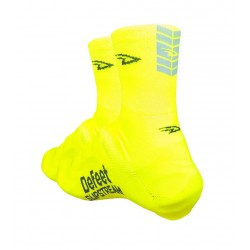 Defeet slipstream safety yellow with reflector oversocks
