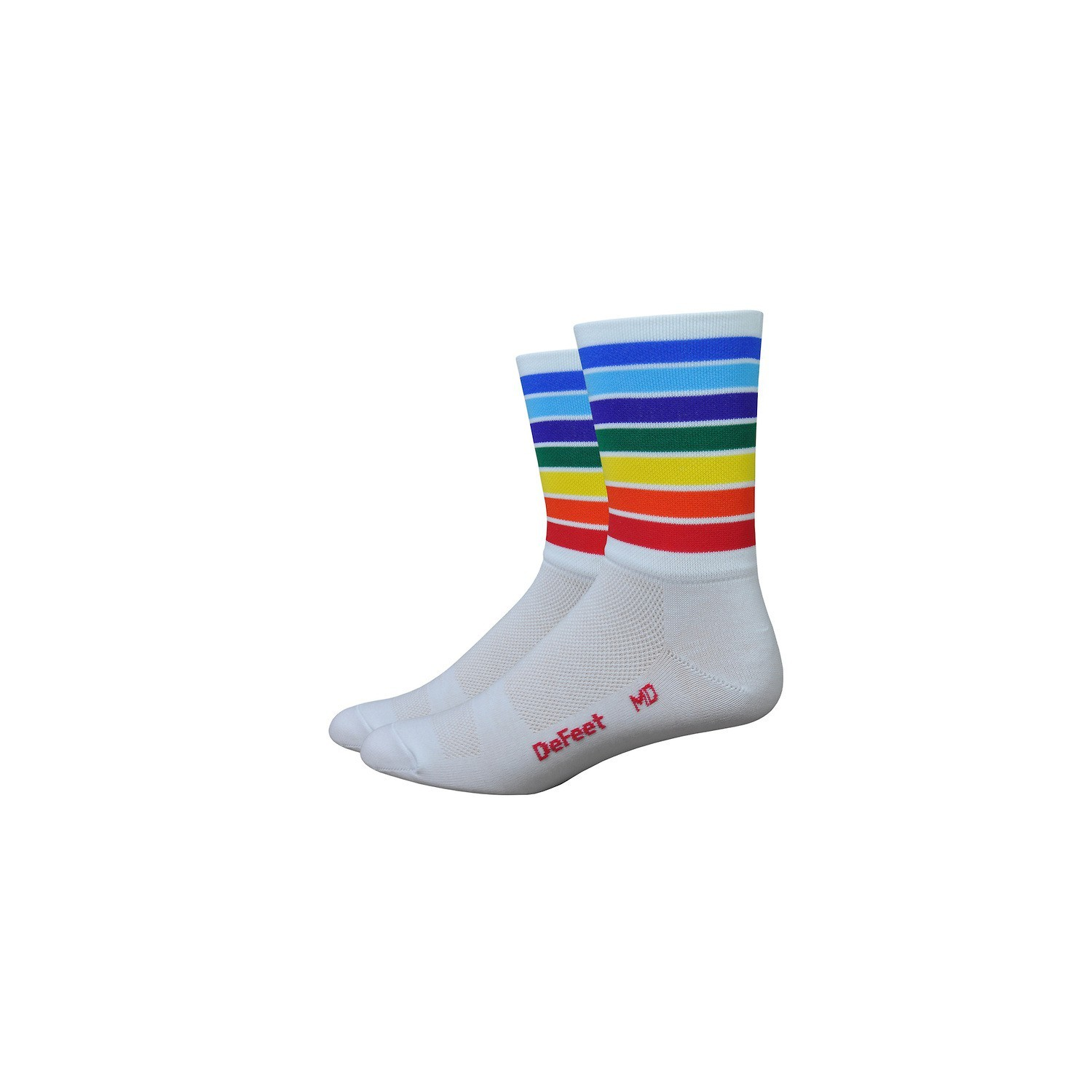 buy good nice cheap so cheap Chaussettes DeFeet Aireator Champion of the world blanc - Velo-Perso.com