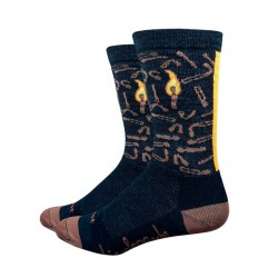 Chaussettes DeFeet BicycleCrumbs laine
