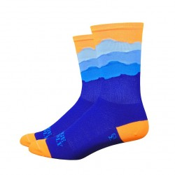 Chaussettes DeFeet Ridge Supply Skyline orange