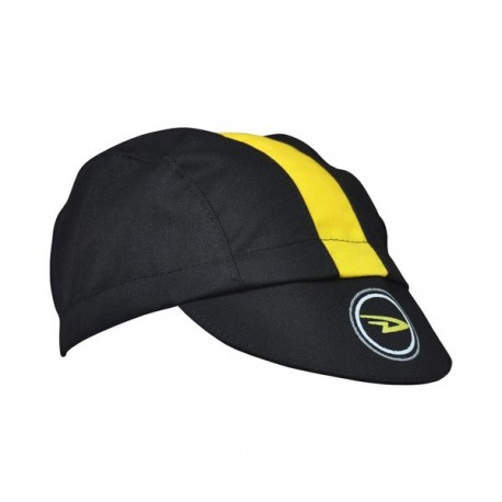 DeFeet cycling cap 2016 yellow & black
