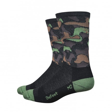 Chaussette Defeet Wooleator camouflage