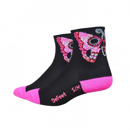 Chaussettes DeFeet Sugarfly rose