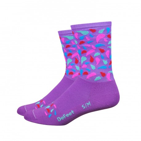 "Chaussettes DeFeet Aireator  ""Confetti"""