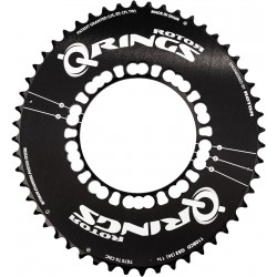 Rotor Q Ring Aero compact chainring 110 (48, 50, 52, 53, 54, 55 or 56T)