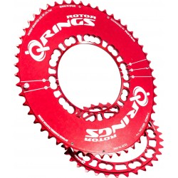 Plateau Rotor QRing rouge (34,36,38,39,50,52 ou 53)