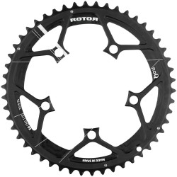 Rotor NoQ compact chainring 110 (44,46,50,52,53 or 54T)