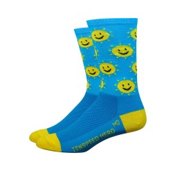 Chaussettes DeFeet Ten Speed Hero Smile