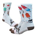 "Chaussettes Defeet Aireator 6"" Ice Cream"