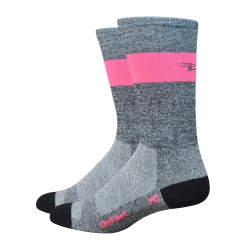 "Defeet Aireator SL 7"" grey and pink"