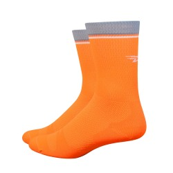 Chaussettes DeFeet Levitator Lite Orange