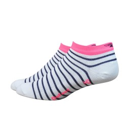 "Defeet Aireator 1"" Navy blue with pink stripe  Sailor"