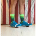 Chaussettes DeFeet Ridge Supply Skyline space green