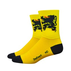 Defeet Aireator D-logo double layer Lion of Flanders