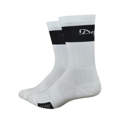 Chaussettes Defeet Cyclismo Trico blanc