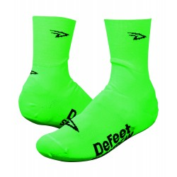 Defeet Slipstream neon green shoe covers / oversocks