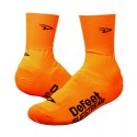 Defeet Slipstream neon orange shoe covers / oversocks
