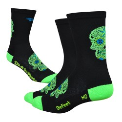 DeFeet Sugarskull hivis green