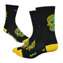 DeFeet Sugarskull yellow