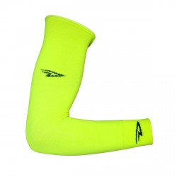 Defeet armskins yellow neon