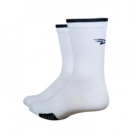 Defeet Cyclismo 5' stripe white