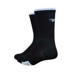 "Defeet Cyclismo 5"" stripe black"