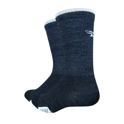 Defeet cyclismo wool charcoal, black