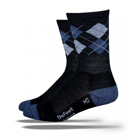 Defeet Wooleator tall Argyle socks
