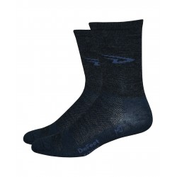Defeet Wooleator hi-top charcoal