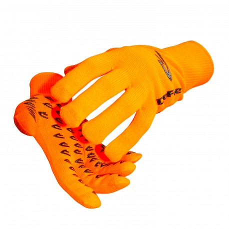 Defeet Duraglove Etouch orange hi-vis