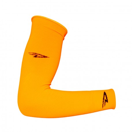 Defeet armskins hi-vis orange
