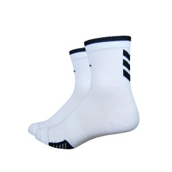 Defeet Cyclismo 3 inches chevron white