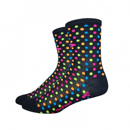 "Defeet Aireator Spotty 4"" black"
