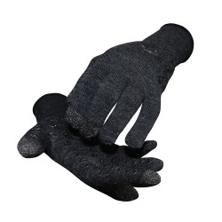 Defeet Duraglove Etouch wool charcoal