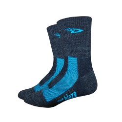 Defeet Blaze black and process blue