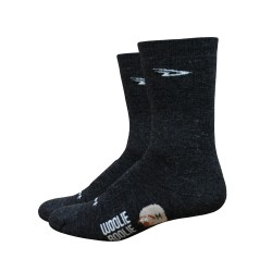 Defeet woolie boolie 2 black 6 inches